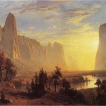 Albert Bierstadt: Yosemite Valley Yellowstone Park 1868