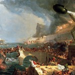 Thomas Cole: The Course of Empire Destruction 1836