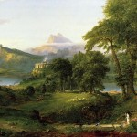 Thomas Cole: The Course of Empire The Arcadian or Pastoral State 1836
