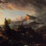Thomas Cole: The Course of Empire The Savage State 1836
