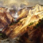 Thomas Moran: Grand Canyon of the Yellowstone 1893-1901