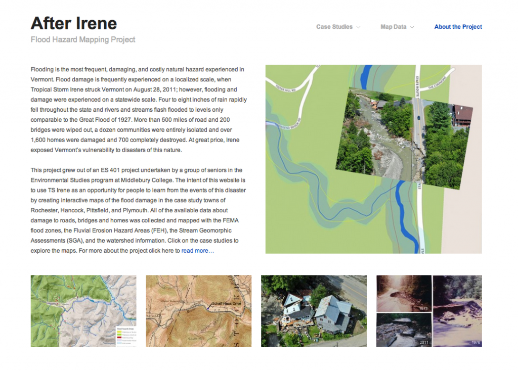 After Irene Webpage